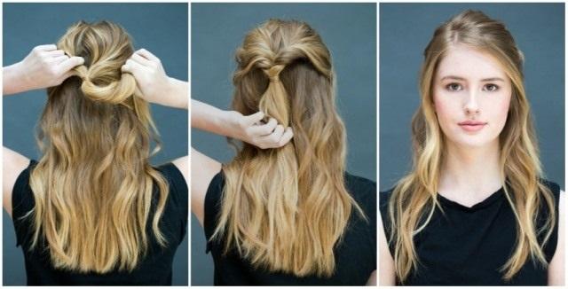 Прически на средние волосы до плеч. Вечерние, с челкой, быстрые, свадебные, повседневные, легкие. Как сделать быстро и красиво. Фото