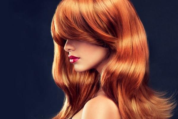 Рыжий цвет волос – фото, кому идет темно, светло, ярко, медно, огненно, русо, каштаново, натуральный, с мелированием
