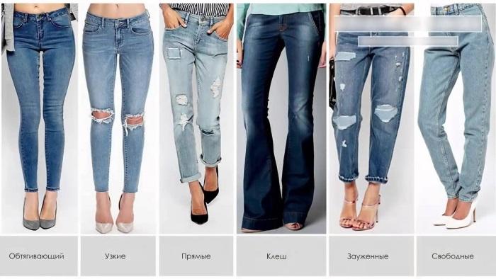 С чем носить голубые женские джинсы. Фото с высокой посадкой, завышенной талией, рваные. Модные образы и идеи