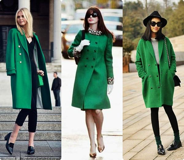 Зеленый цвет в одежде. Оттенки, названия и фото, палитра теплые и холодные тона