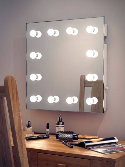Зеркало для макияжа. Рейтинг лучших: настольное с подсветкой, настенное, увеличивающее, двустороннее, сенсорное с led-лампочками