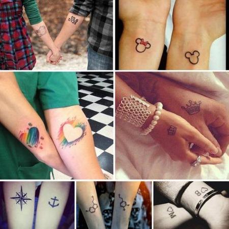 Красивые татуировки для девушек. Фото надписей, легких женских тату, парных, небольших на руке, запястье, бедре, плече, ноге, животе