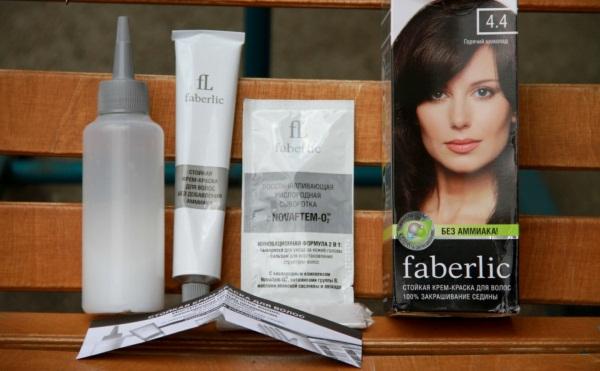Краска для волос Фаберлик. Состав, палитра цветов, фото на волосах, отзывы