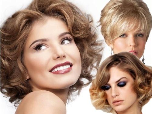 Модные укладки на короткие волосы с объемом, на торжество, долговременная, красивая вечерняя. Фото и пошаговые инструкции