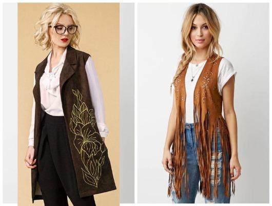 Жилет женский: виды и модели, модные тенденции 2018-2019. Фото