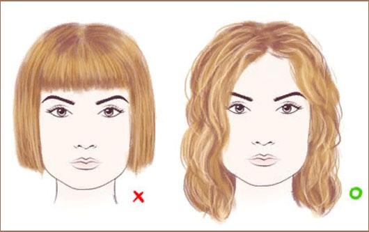 Девушки с короткой стрижкой для круглого лица, с длинной челкой, на кудрявые волосы. Прически для молодых