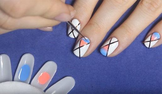 Дизайн ногтей на короткие ногти. Новинки маникюра, фото френч, шеллак, омбре, геометрия, матовый, красивый нежный