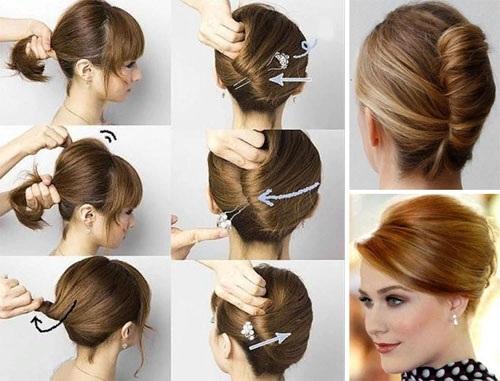 Прически на короткие волосы для женщин на торжество, свадьбу, День рождения, стильные вечерние
