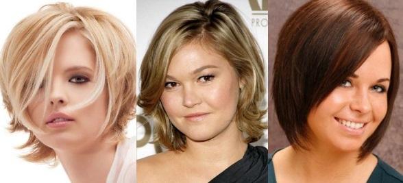 Стрижки для полных женщин с круглым лицом после 30, 40, 50, 60 лет, с тонкими волосами, каре, боб. Короткие, средние, длинные, с челкой