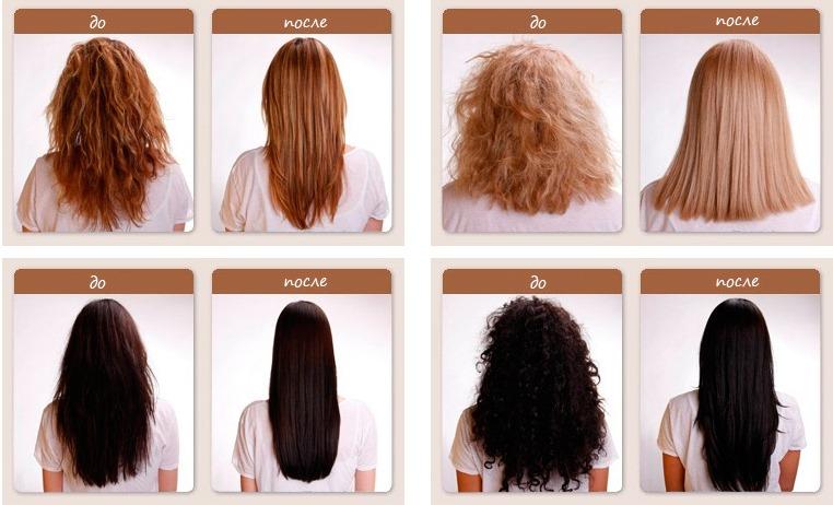 Кератиновое выпрямление волос: плюсы и минусы, последствия. Как и чем делают, средства. Фото результатов