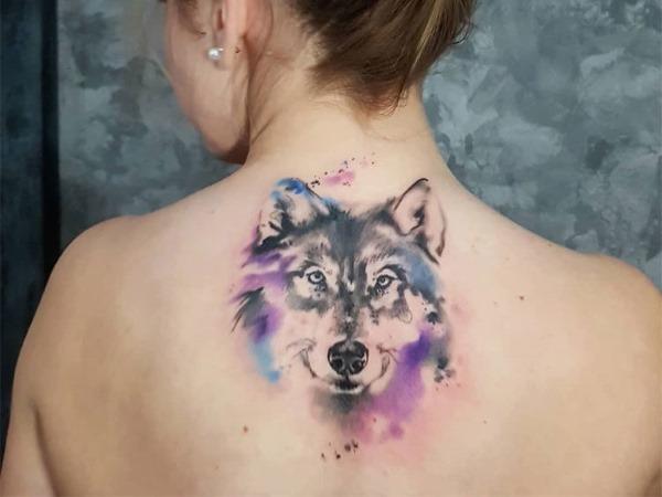 Эскизы татуировок для девушек. Маленькие, геометрические, красивые. Волк, лиса, цветы, совы, иероглифы