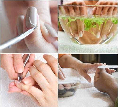 Как правильно делать обрезной маникюр пошагово для начинающих. Видео-уроки: классический ножничками, машинкой