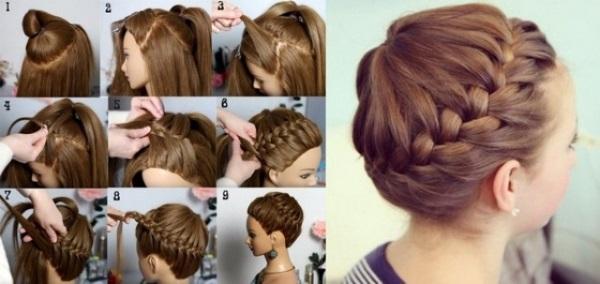 Прически на средние волосы. Фото женские красивые на каждый день. Инструкции