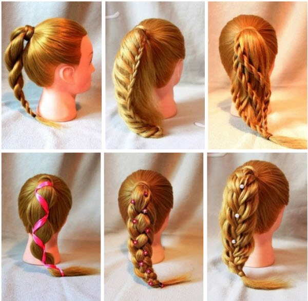 Прически на средние волосы в школу за 5 минут легкие, быстрые, красивые, с челкой на каждый день, первое сентября, выпускной