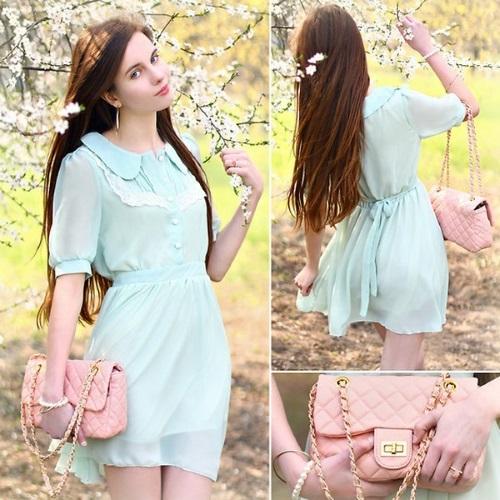 Пудровый цвет в одежде. Фото, оттенки розового, с чем сочетается светлый, темный. Образы для женщин