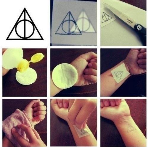 Как делают временное тату на 2 недели, 3 месяца с помощью карандаша для глаз, принтера, хной, ручкой