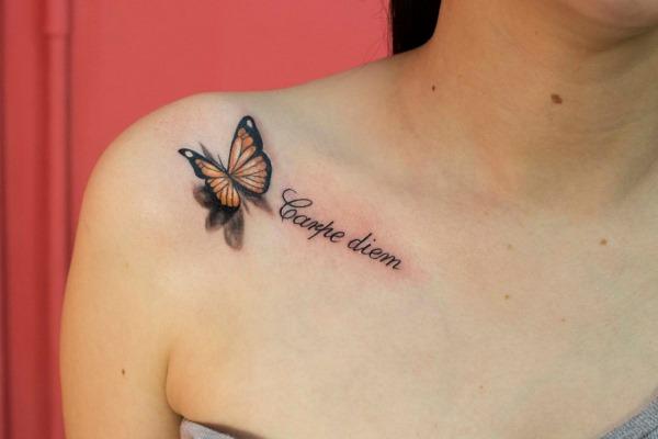 Эскизы маленьких татуировок для девушек на запястье, руку, ногу со смыслом, значение рисунков