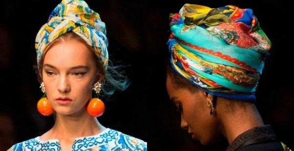 Как завязать платок на голове разными способами зимой, летом на пляже, осенью или весной. Пошаговое руководство с фото