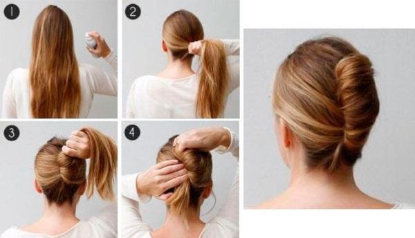Быстрые прически на средние волосы. Инструкция, как сделать своими руками