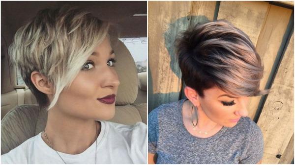 Стрижки на короткие волосы с челкой женские. Фото объемные, каскад, лесенкой, модные