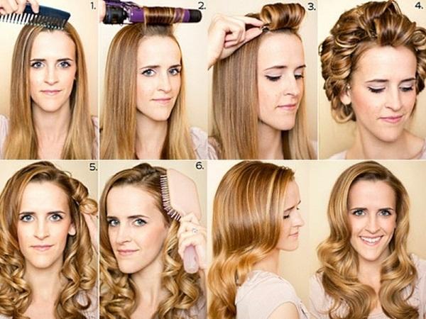 Укладки на средние волосы. Фото, модные тенденции с чёлкой и без, кудрями, на торжество