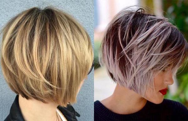 Асимметричные стрижки на средние волосы для женщин. Фото, кому идёт, вид спереди и сзади