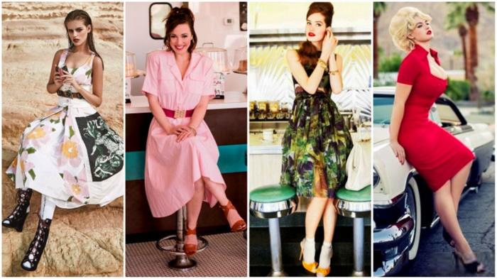 Стиль Стиляги в одежде 50-х годов. Фото удачных образов для женщин и мужчин. Модные принты