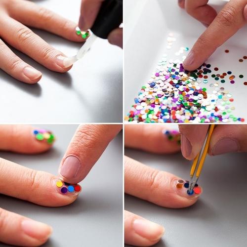 Модные дизайны маникюра гель-лаком 2019 на короткие и длинные ногти. Фото, картинки
