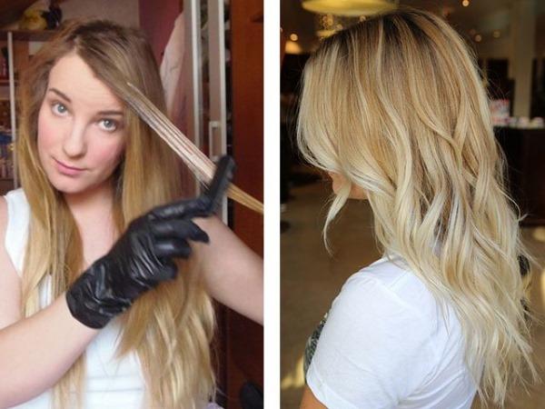 Обесцвечивание волос в домашних условиях перекисью водорода. Профессиональные средства без аммиака, кремы, пудра, маски