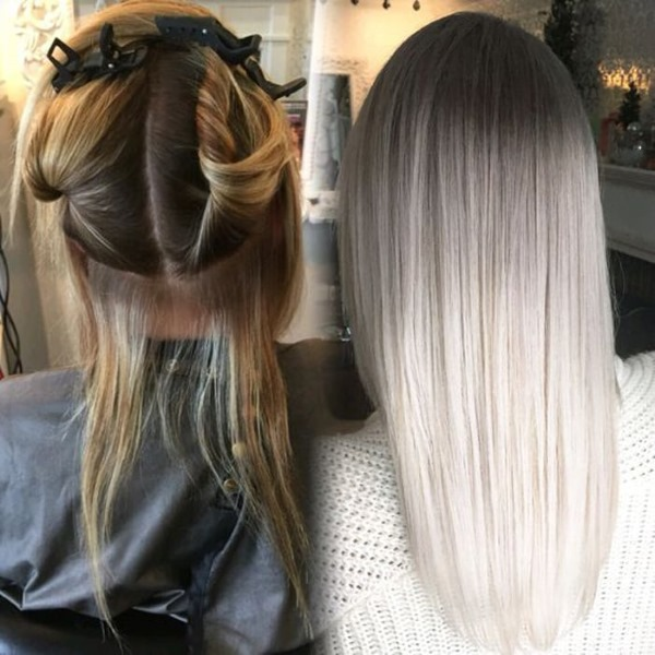 Светло-пепельный цвет волос. Фото кому подойдет, краски, на короткие, длинные, средние волосы