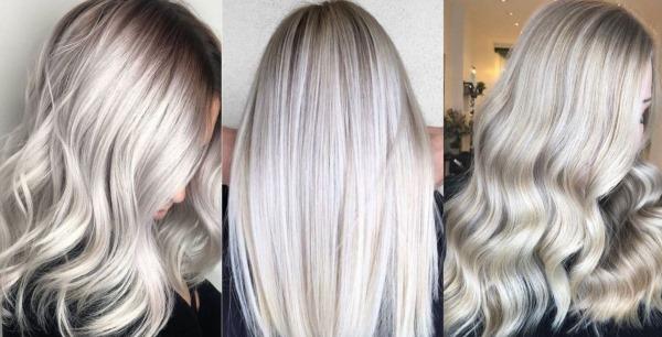 Холодный блонд цвет волос. Фото с мелированием, как добиться, краски
