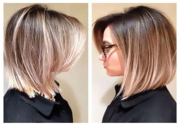 Модные и креативные женские стрижки на средние волосы. Фото 2019