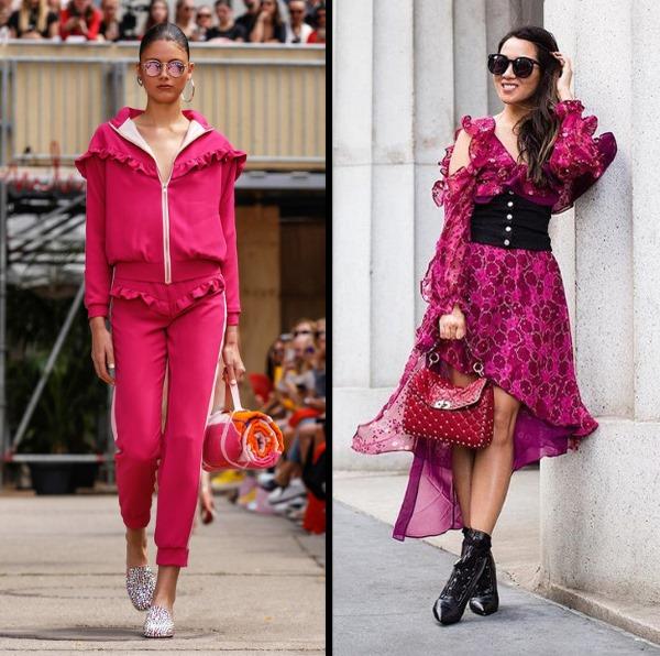 Модные показы весна-лето 2019. Фото Диор, Вог, вязаной одежды, обувь, печворк и бохо