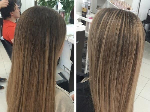 Натуральный русый цвет волос. Фото до и после окрашивания, кому идёт