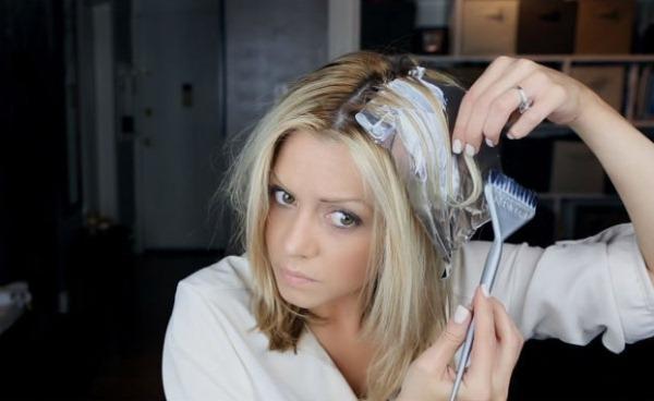 Пепельное мелирование на русые волосы средней длины, короткие, длинные. Фото, техники окрашивания