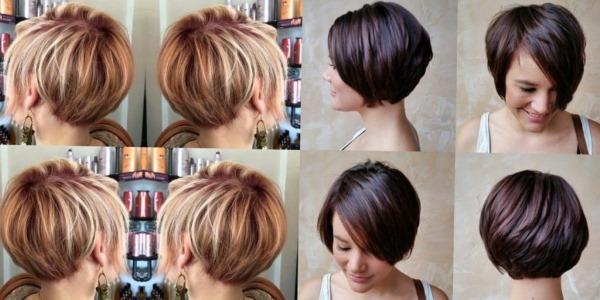 Модные стрижки с челкой на короткие волосы для женщин. Фото, варианты