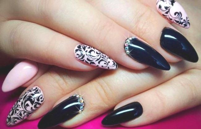 Красивые дизайны ногтей гель-лаком, шеллаком, акриловыми красками. Фото, пошагово для начинающих
