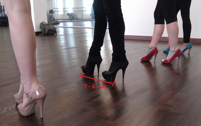 Как научиться ходить на каблуках за день уверенно, правильно, чтобы ноги не уставали