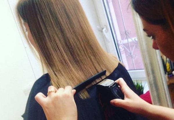 Как подровнять кончики волос машинкой, ножницами своими руками в домашних условиях