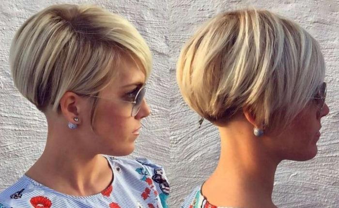 Короткие женские стрижки для круглого лица. Фото модных причесок, инструкции по укладке