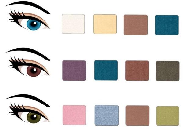 Макияж с нарощенными ресницами для карих, зеленых, голубых, серых глаз. Как сделать пошагово с фото