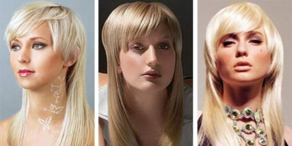 Объемные стрижки на длинные волосы с челкой и без, наискосок. Фото, инструкции, как сделать