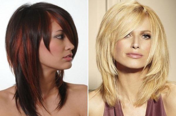 Красивые женские прически для квадратного лица. Фото на короткие, средние, волнистые волосы