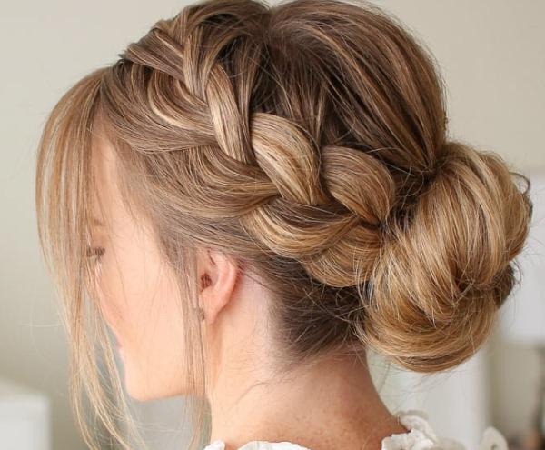 Прически на длинные волосы с челкой на торжество, каждый день, свадебные. Как сделать своими руками, фото
