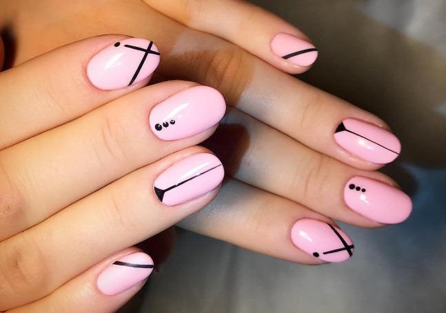 Простые и красивые дизайны ногтей гель-лаком. Фото, как сделать пошагово для начинающих
