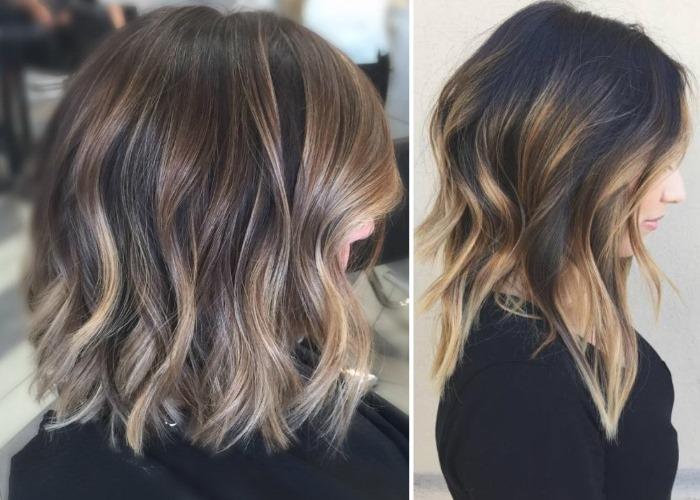 Стрижки на средние тонкие волосы с челкой для женщин, создающие объем, не требующие укладки. Фото