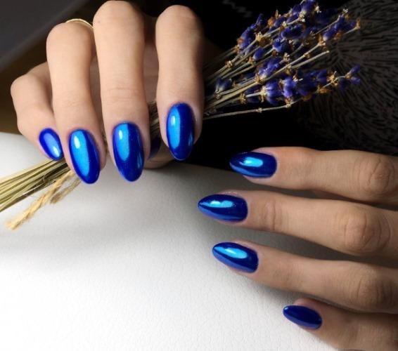 Дизайн ногтей в темных тонах на короткие и длинные ногти. Фото, рисунки