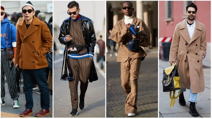 Коричневый с каким цветом сочетается в одежде для женщин, мужчин. Фото светло/темно-, оттенки, колористика