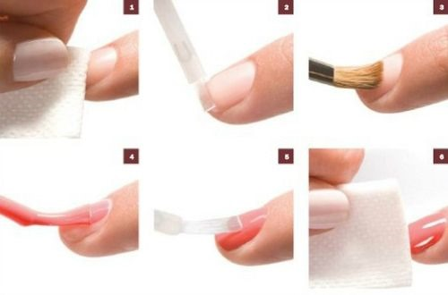 Мятный френч на ногтях. Фото, идеи дизайнов, новинки 2019 с рисунком