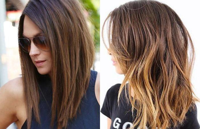 Рваное каре на средние волосы. Фото без челки и с ней, схема, фото, инструкция стрижки
